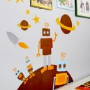 "Blafre  Wandsticker/Dekorations-Sticker ""Roboter"""