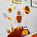 "Blafre  Wandsticker/Dekorations-Sticker ""Roboter"""